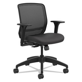 HON Quotient Series Mesh Mid-Back Task Chair Black