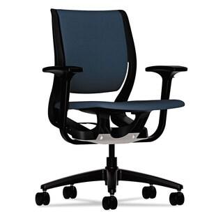 HON Purpose Upholstered Flexing Task Chair Cerulean/Black