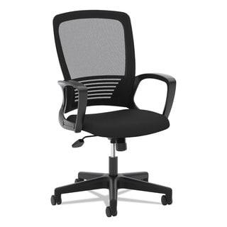 basyx VL525 Mesh High-Back Task Chair Black