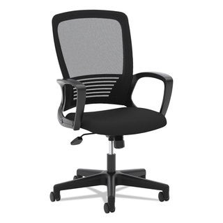 basyx VL525 Mesh High-Back Task Chair Black