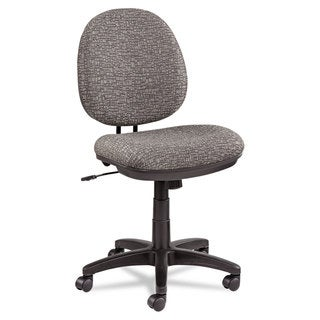 Alera Interval Swivel/Tilt Task Chair Tone-On-Tone Fabric Graphite Grey