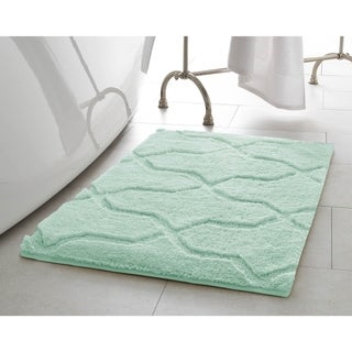 Jean Pierre Pearl Drona 20 in. x 32 in. Bath Mat (More options available)