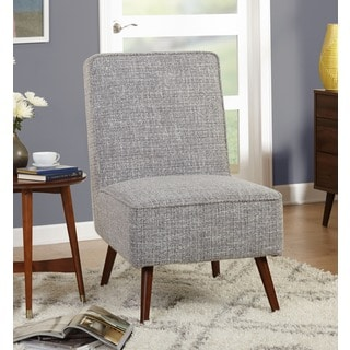 Simple Living Mid Century Grey Noma Accent Chair