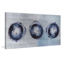 Marmont Hill - 'Ring Shadows' Painting Print on Wrapped Canvas