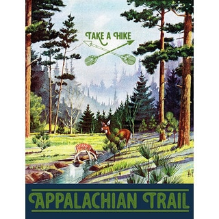 Marmont Hill - 'Travel Appalachian Trail' Painting Print on Wrapped Canvas