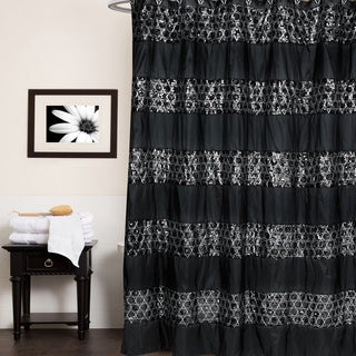 Black Shower Curtain Rings Plastic Urban Beat Shower Curtain Black White  Red Grey