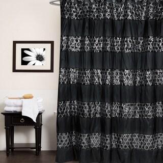 Black Shower Curtain Rings Plastic Urban Beat Shower Curtain Black White  Red Grey