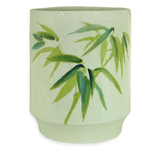 Zen Bamboo Wastebasket