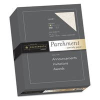 Southworth Parchment Specialty Paper Ivory 24lb 8 1/2 x 11 500 Sheets