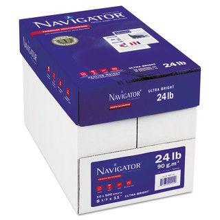 Navigator Platinum Paper 99 Brightness 24-pound 8-1/2 x 11 White 5000/Carton