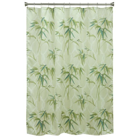 Zen Bamboo Shower Curtain