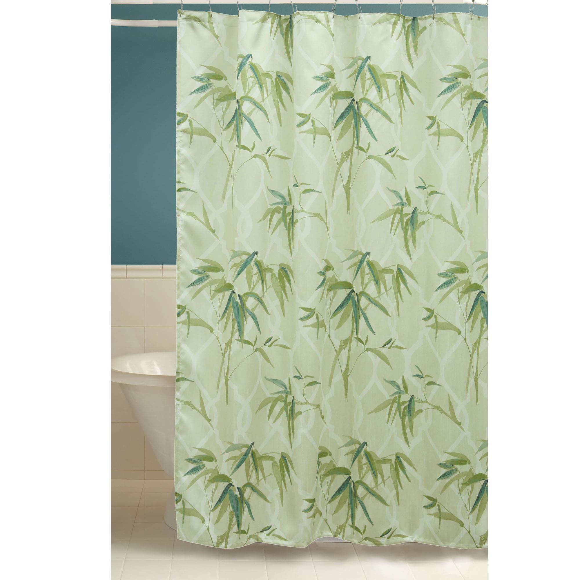 Shop Zen Bamboo Shower Curtain Overstock 13996669