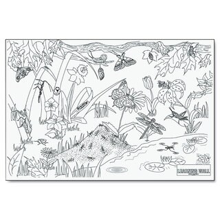 Pacon Learning Walls Paper Insects 72-inch x 48-inch