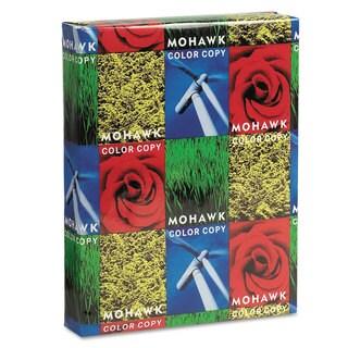 Mohawk Copier Gloss Cover Paper 100-pound 94 Bright Letter Pure White 250 Sheets