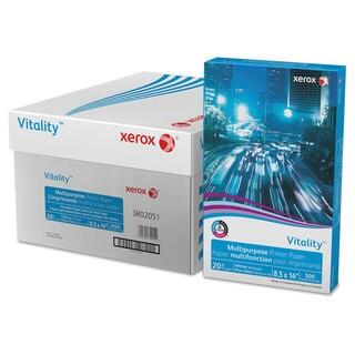 Xerox Vitality Multipurpose Printer Paper 8 1/2 x 14 White 5,000 Sheets/Carton