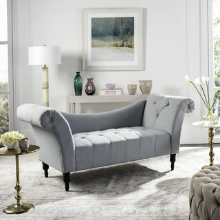 Safavieh Couture High Line Collection Jalena Polyester-Linen Settee