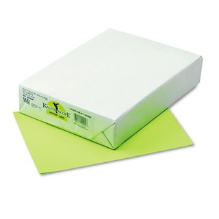 Pacon Kaleidoscope Multipurpose Colored Paper 24-pound 8-1/2 x 11 Lime 500/Ream