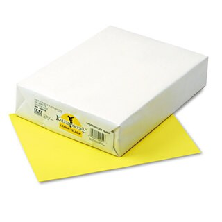Pacon Kaleidoscope Multipurpose Colored Paper 24lb 8-1/2 x 11 Lemon Yellow 500/Rm