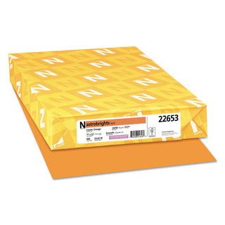 Astrobrights Color Paper 24-pound 11 x 17 Cosmic Orange 500 Sheets