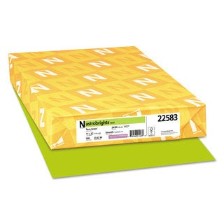 Astrobrights Color Paper 24-pound 11 x 17 Terra Green 500 Sheets