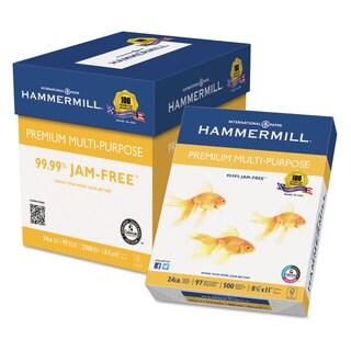 Hammermill Premium Multipurpose Paper 24-lb. 8-1/2 x 11 White 2500/Carton