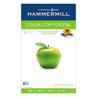 Hammermill Copy Paper 100 Brightness 28-pound 8-1/2 x 14 Photo White 500/Ream