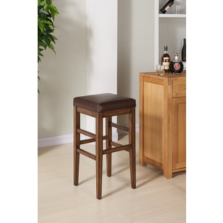 Valencia Backless Leather Counter Stool Free Shipping