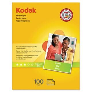 Kodak Photo Paper Matte 7 mil 8-1/2 x 11 100 Sheets/Pack