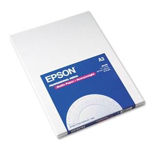 Epson Premium Matte Presentation Paper 45-pound 11-3/4 x 16-1/2 50 Sheets/Pack