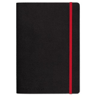 Black n' Red Soft Cover Notebook Legal Rule Black Cover 5 3/4 x 8 1/4 71 Sheets/Pad