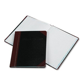 Boorum & Pease Laboratory Notebook Record Rule 10-3/8 x 8-1/8 White 150 Sheets