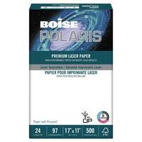 Boise POLARIS Premium Laser Paper 96 Bright 24-pound 11 x 17 White 500 Sheets