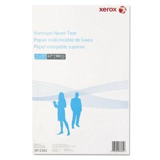 Xerox Revolution Premium Never Tear Paper 11 x 17 4.7 mil White 100 Sheets/Pack