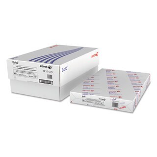 Xerox Bold Coated Gloss Digital Printing Cover Paper 11 x 17 White 250 Sheets/Pack