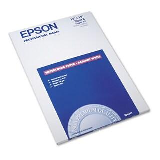 Epson Watercolor Radiant White Inkjet Paper 13 x 19 White 20/Pack