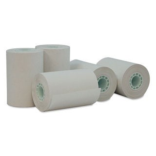 Universal One Single-Ply Thermal Paper Rolls 2 1/4 inches x 55 ft White 50/Carton