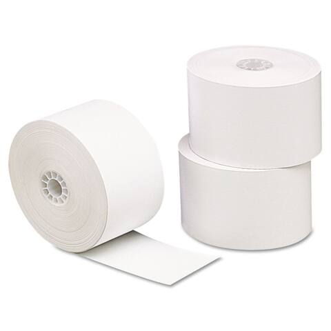 Universal One Single-Ply Thermal Paper Rolls 3 1/8-inch x 230-feet long White 10/Pack