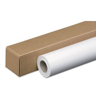 PM Company Amerigo Wide-Format Paper 24-pound 2-inch Core 42-inch x 150 ft White/Amerigo