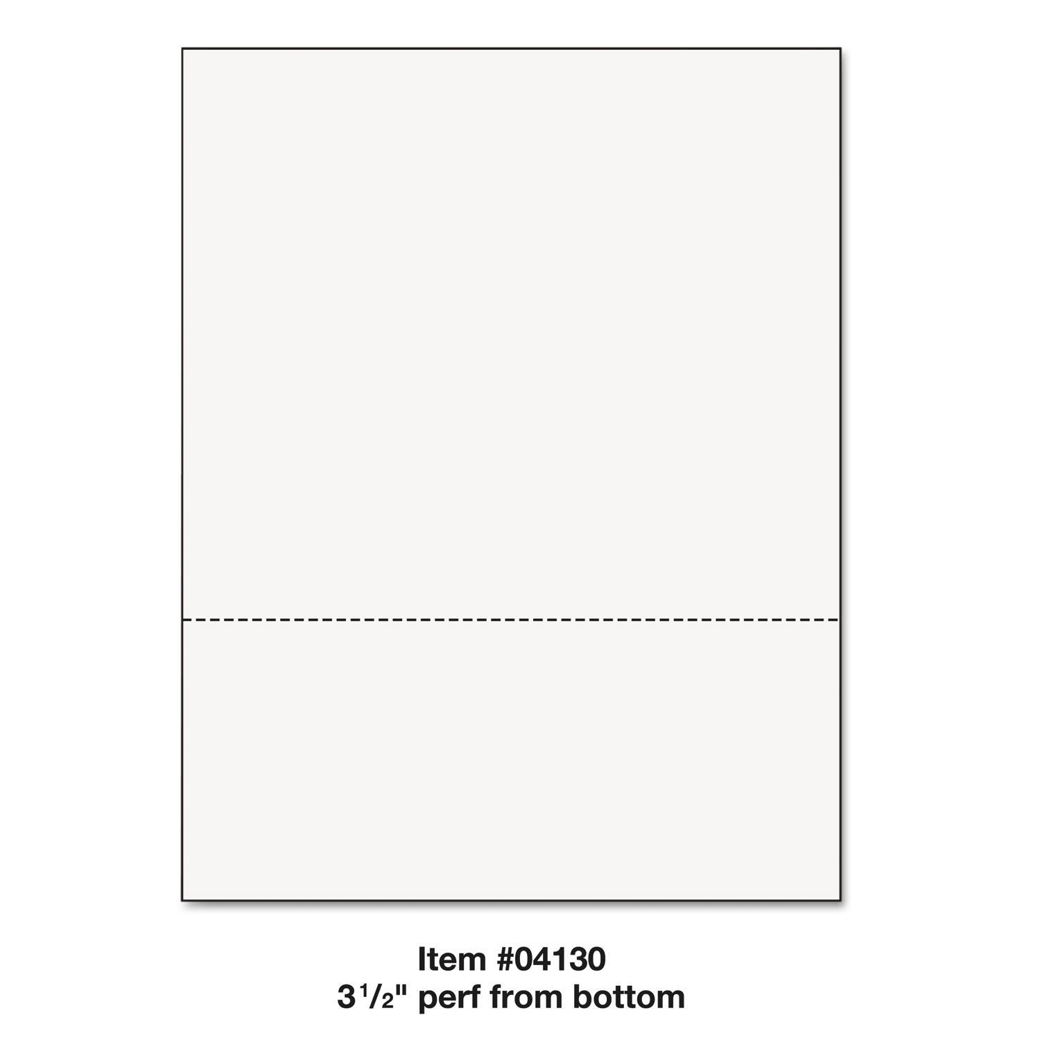 Printworks Professional Office Paper Perforated 3 1/2-inc...