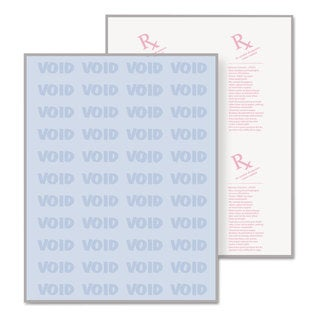 DocuGard DocuGard Security Paper 8-1/2 x 11 Blue 500/Ream