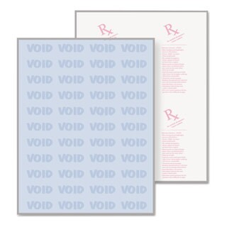 DocuGard DocuGard Security Paper 8-1/2 x 11 Blue 500/Ream