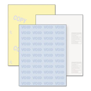 DocuGard DocuGard Security Paper 32-pound 8-1/2 x 11,Blue/Canary 500/Ream