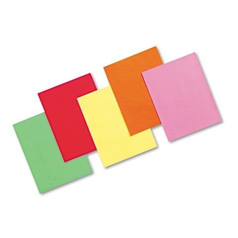Pacon Array Colored Bond Paper 24-pound 8-1/2 x 11 Assorted Brights 500 Sheets/Ream