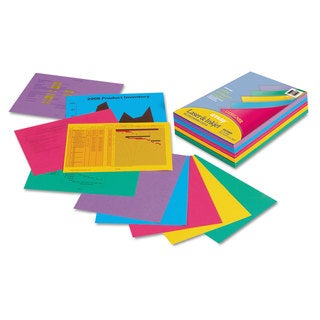 Pacon Array Colored Bond Paper 24lb 8-1/2 x 11 Assorted Designer Colors 500/Ream