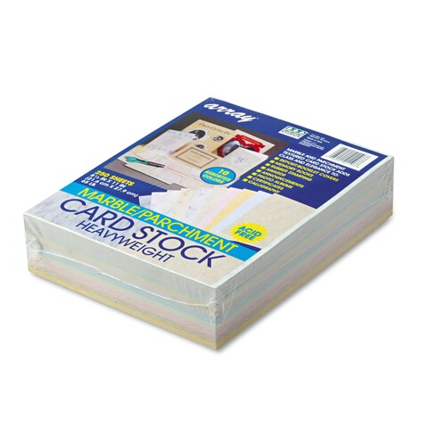 Pacon Array Card Stock 65 lb. Letter Assorted Colors 250 Sheets/Pack