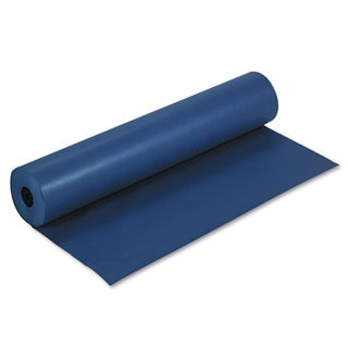Pacon Rainbow Duo-Finish Colored Kraft Paper 35-pound 36 inches x 1000 ft Dark Blue