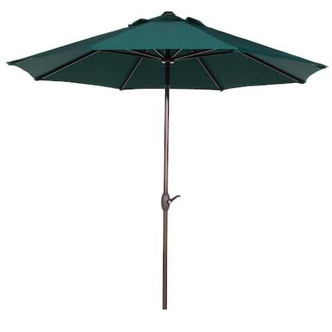 Havenside Home Angoon Green 11-foot Outdoor Market Umbrella