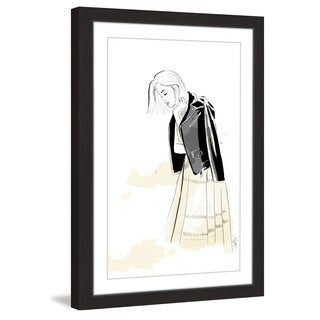 Marmont Hill - 'Lauren' by Alison Petrie Framed Painting Print
