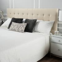 Westin Tufted Fabric Fully Upholstered King/ California King Headboard by Christopher Knight Home