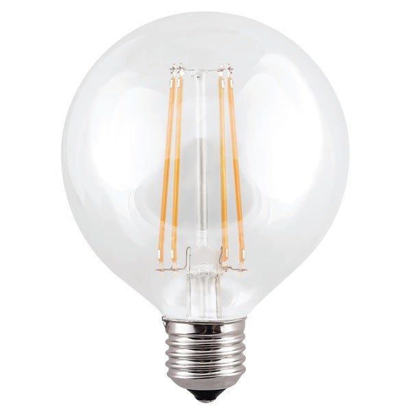 G25 Led Light Bulb 7w 60 Watt Equivalent 850 Lumens Clear Warm White 3000k E26 Base Dimmable 10 Pack Free Shipping Today